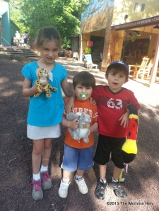 For the record, it's a coral snake, a cheetah and a squirrel. (A squirrel!!)