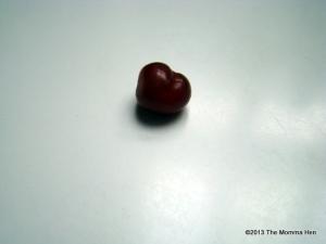 Heart-shaped grape